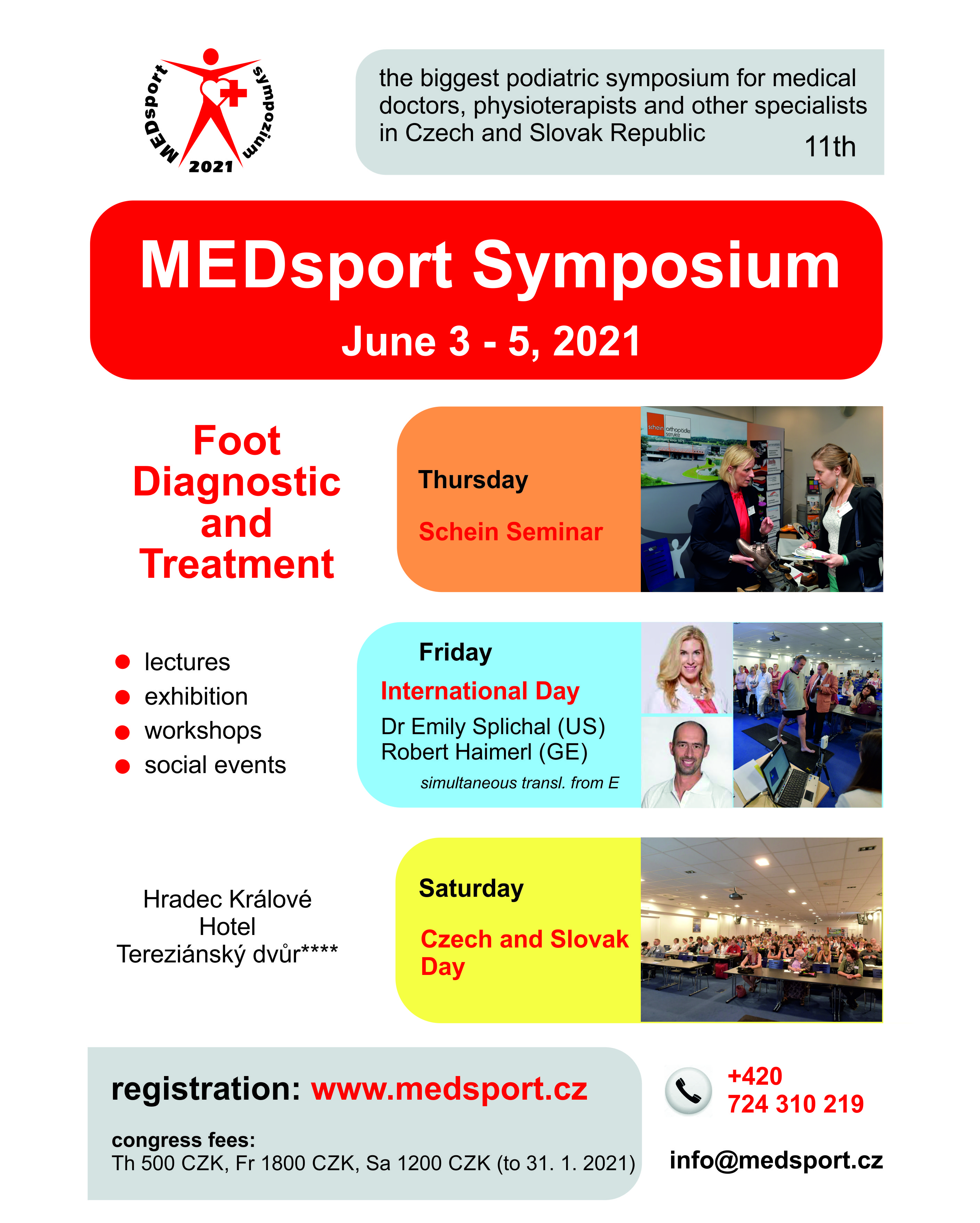 Invitation to MEDsport Symposium 2021